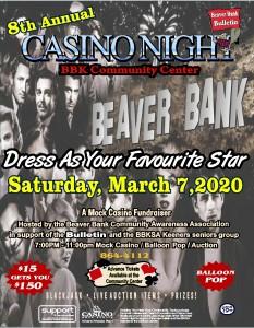 Monte Carlo Night Fundraiser